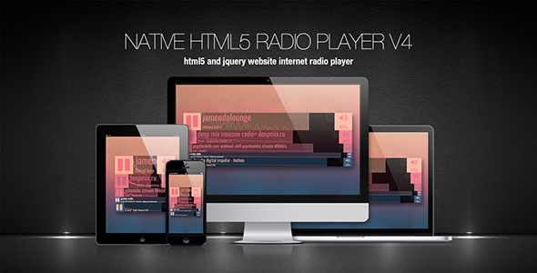Native HTML5 Radio Player - CodeCanyon Item for Sale