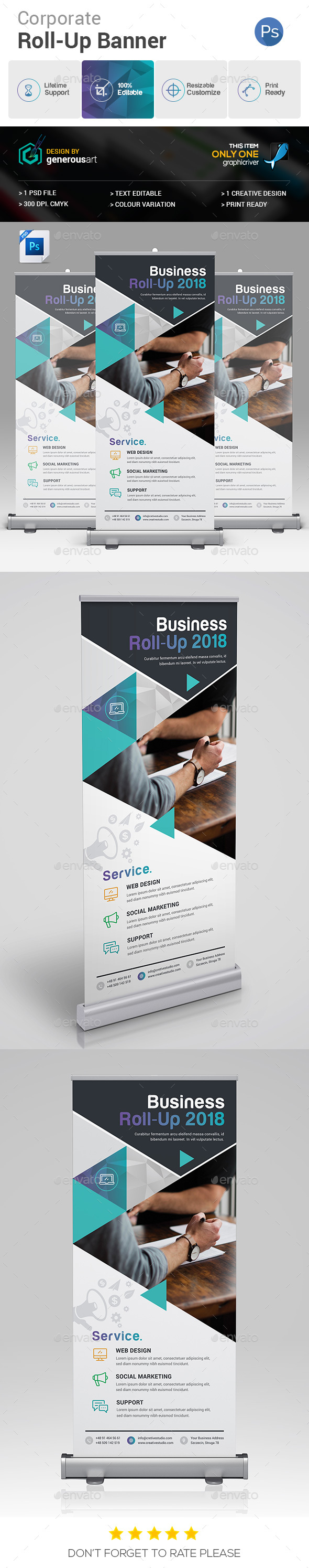 GraphicRiver Roll-Up Banner 20883175