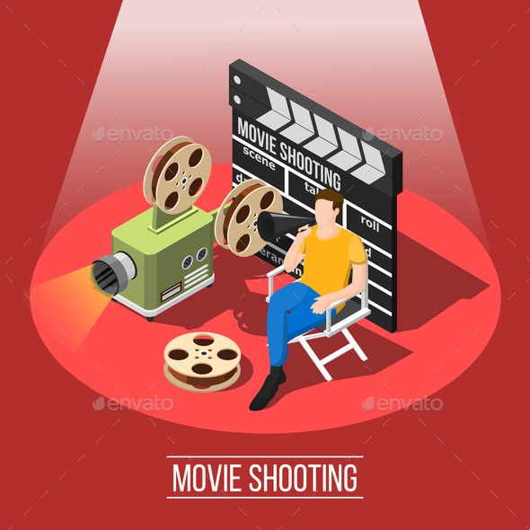 GraphicRiver Film Shooting Background Concept 20883516