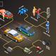 Street Racing Flowchart Infographics