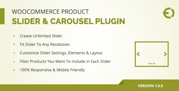 CodeCanyon WooCommerce Product Slider & Carousel Plugin 20883965