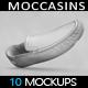 Shoes Moccasins MockUp