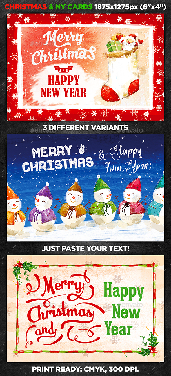 Christmas & New Year Cards vol.2 - Christmas Greeting Cards