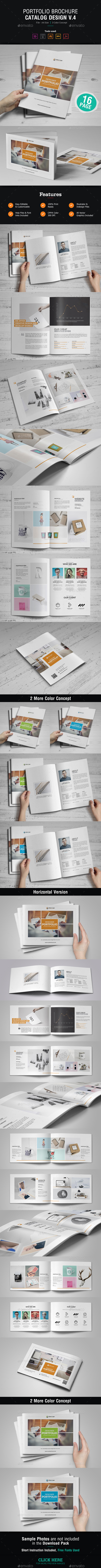 Portfolio Brochure Design v4 - Corporate Brochures
