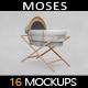 Moses Basket MockUp - GraphicRiver Item for Sale