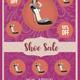 Women Shoe Store Flyer