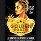 Golden Party Flyer