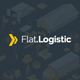 Flat Logistic - PSD template - ThemeForest Item for Sale