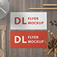 Landscape DL Flyer Mockup - GraphicRiver Item for Sale