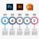 6 Steps Timeline Infographics