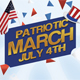 Patriotic March Flyer Template