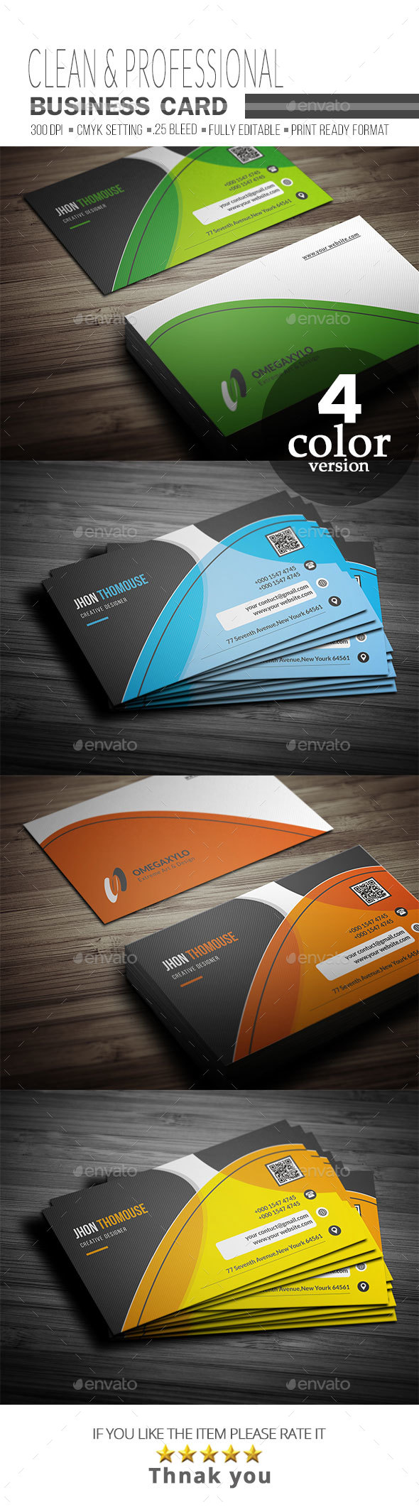 GraphicRiver Business Card 20885021
