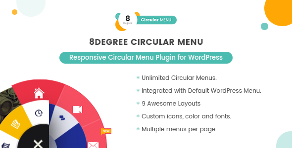 Download Source code              8Degree Circular Menu - Responsive Circular Menu Plugin for WordPress            nulled nulled version