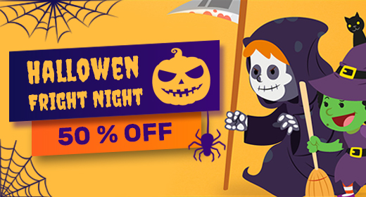 Halloween Fright Night 50% OFF