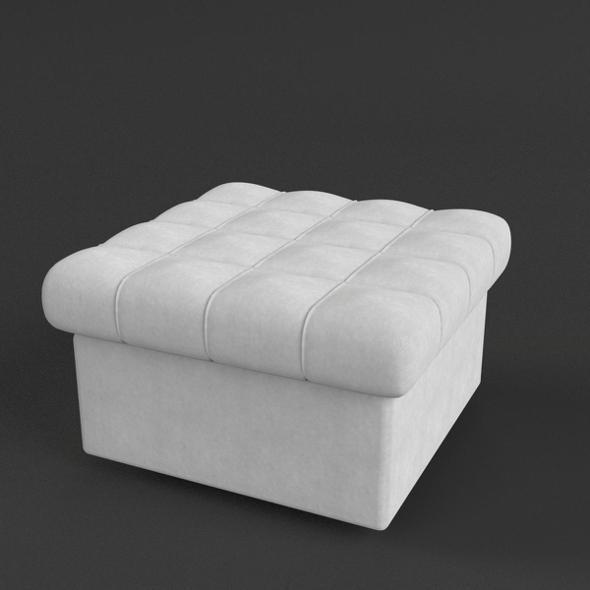 Pouf Sofa - 3DOcean Item for Sale