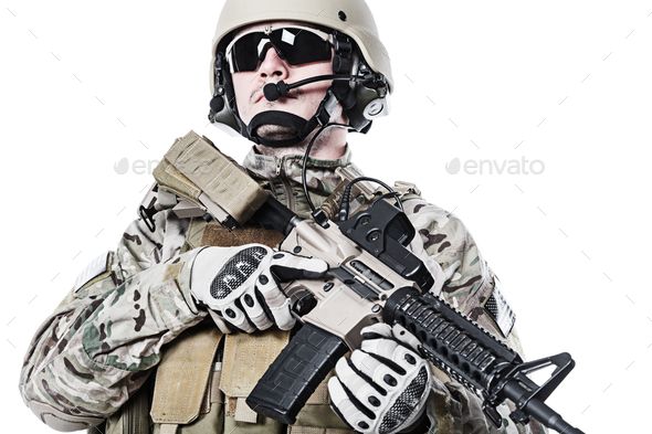 US Army Green Beret - Stock Photo - Images