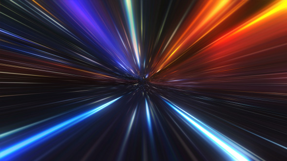 Light Speed Tunnel Flight By Gesh Tv Videohive