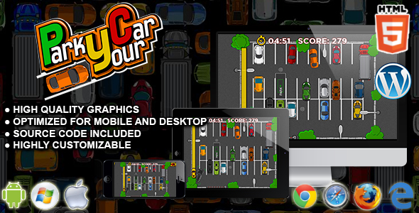 Park Your Car - HTML5 Parking Game - CodeCanyon Item for Sale