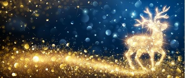 Christmas Magic Deer - Christmas Seasons/Holidays