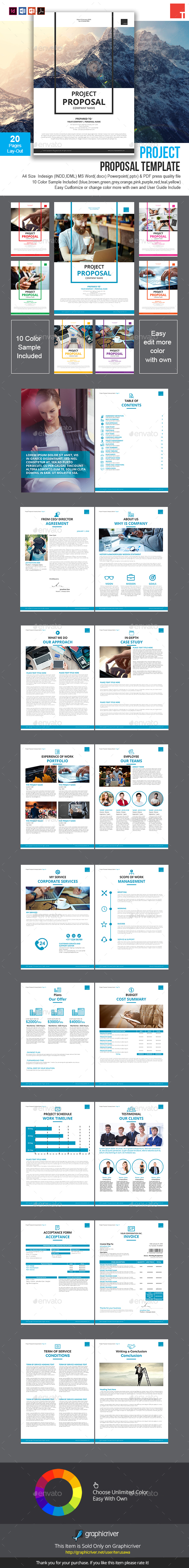 GraphicRiver Project Proposal Template 20886106