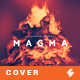 Magma - Music Album Cover Artwork Template - GraphicRiver Item for Sale