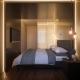 3d Illustration of a Bedroom Interior Design