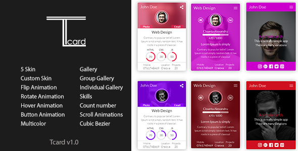 Source code              Tcard – Simple jQuery Plugin for Creating Cards            nulled
