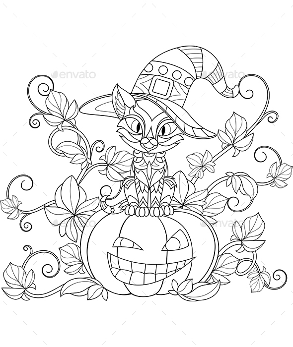 Thematic Coloring for Halloween - Halloween Seasons/Holidays