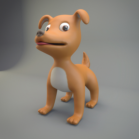 3DOcean Cartoon Dog 20887320
