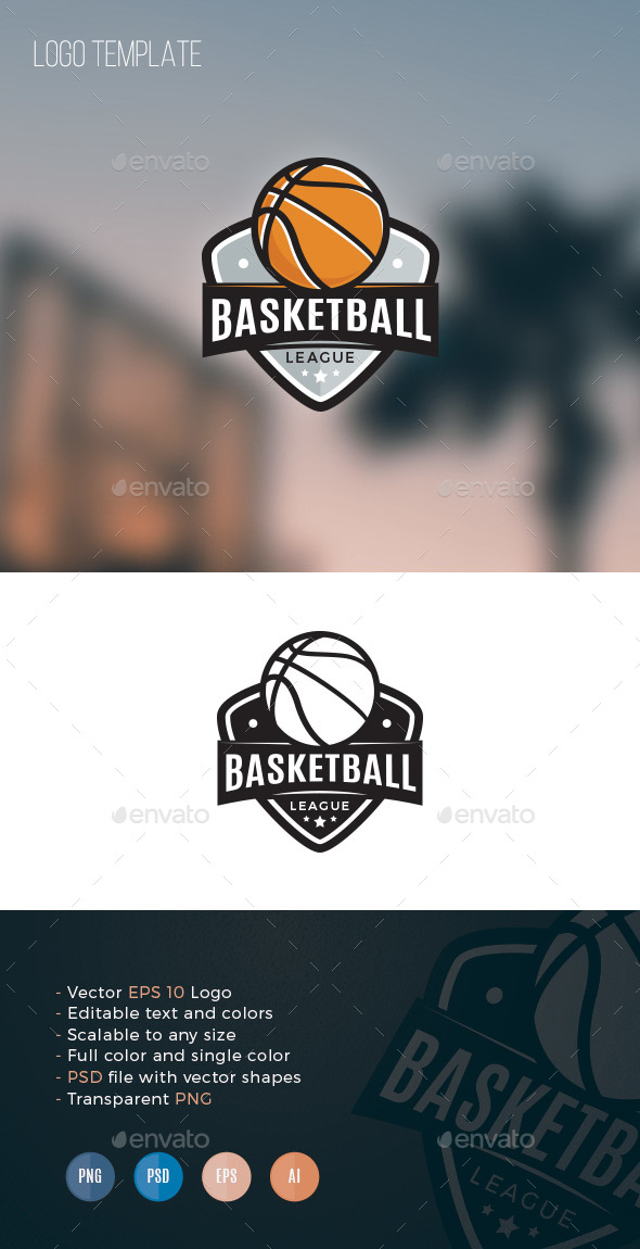 GraphicRiver Basketball League 20887482