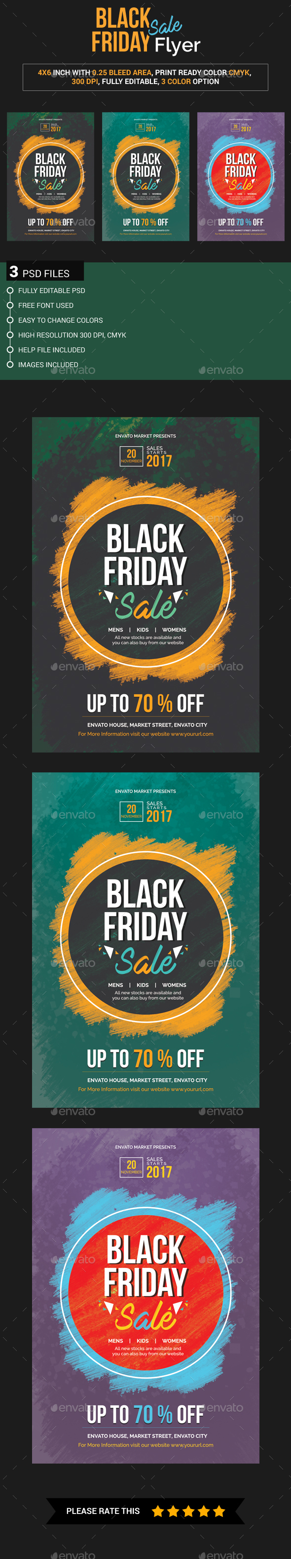 Black Friday Flyer - Events Flyers