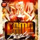 Camo Party Flyer