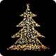 Magical Christmas Tree With Sparkles - VideoHive Item for Sale
