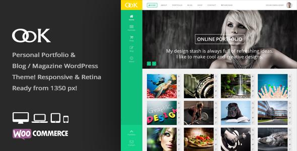 OoK - Personal Blog / Magazine & Portfolio Theme - Personal Blog / Magazine