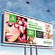 Spa & Beauty Care Billboard Template