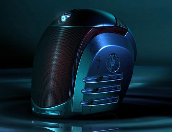 3DOcean Sci-fi helmet 20888105