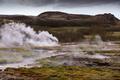 Beautiful Icelandic landscape with geysir - PhotoDune Item for Sale