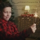 Boy Holding Christmas Sparkler Under the Confetti Rain - VideoHive Item for Sale
