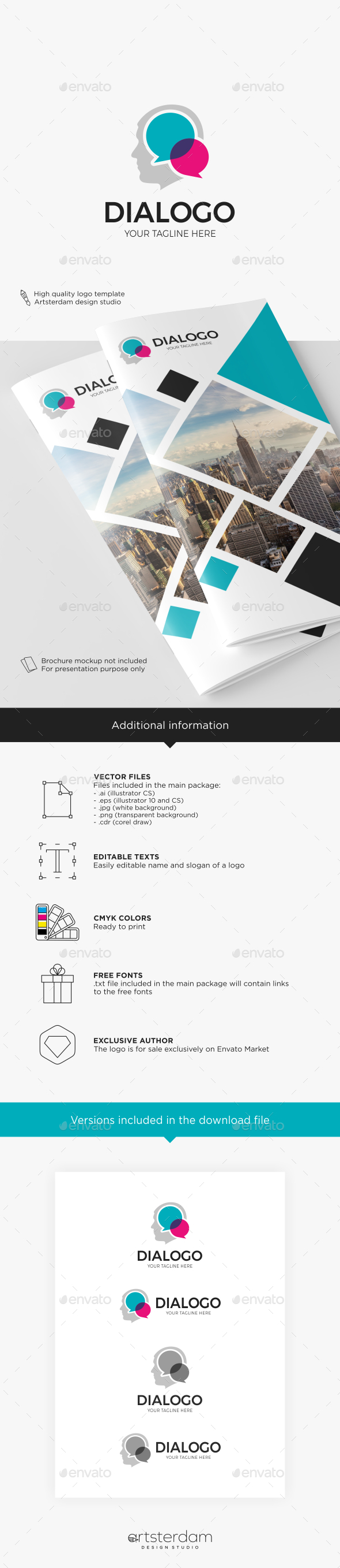 logo designs u0026 templates from graphicriver