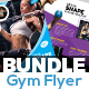 Gym/Fitness Flyer Bundle