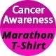 Cancer Awareness Marathon T-Shirt - GraphicRiver Item for Sale