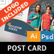 Education Postcard Design - GraphicRiver Item for Sale