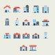 Icon Bulding Pack - GraphicRiver Item for Sale