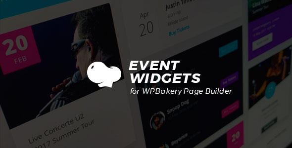 Event Widgets for WPBakery Page Builder (Visual Composer) - CodeCanyon Item for Sale