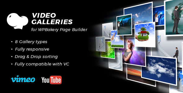 Video Galleries for WPBakery Page Builder (Visual Composer) - CodeCanyon Item for Sale