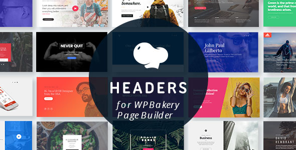 Headers for WPBakery Page Builder (Visual Composer) - CodeCanyon Item for Sale