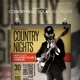 Country Music Flyer / Poster Vol 4 - GraphicRiver Item for Sale