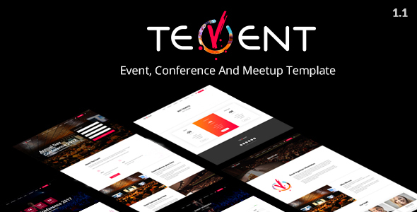 Tevent - Conference & Event Template