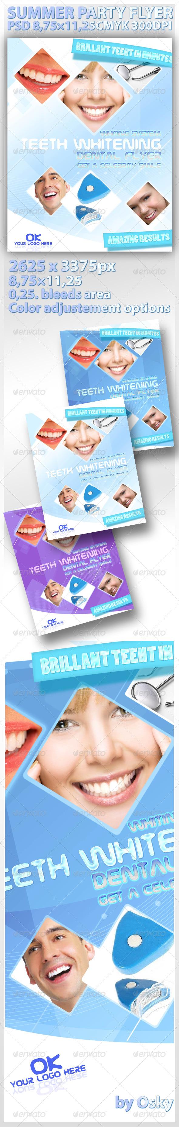 Professional Dental Flyer - Commerce Flyers