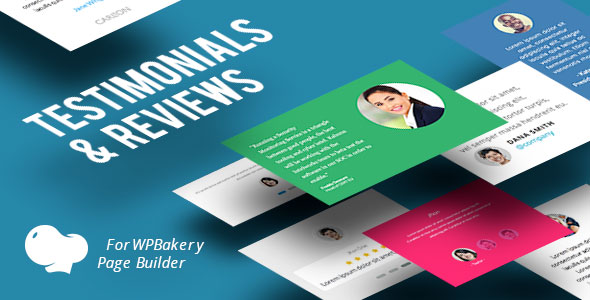 Testimonials and Reviews for WPBakery Page Builder (Visual Composer) - CodeCanyon Item for Sale